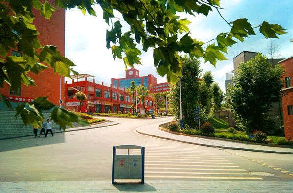 贵州工商职业学院校园环境
