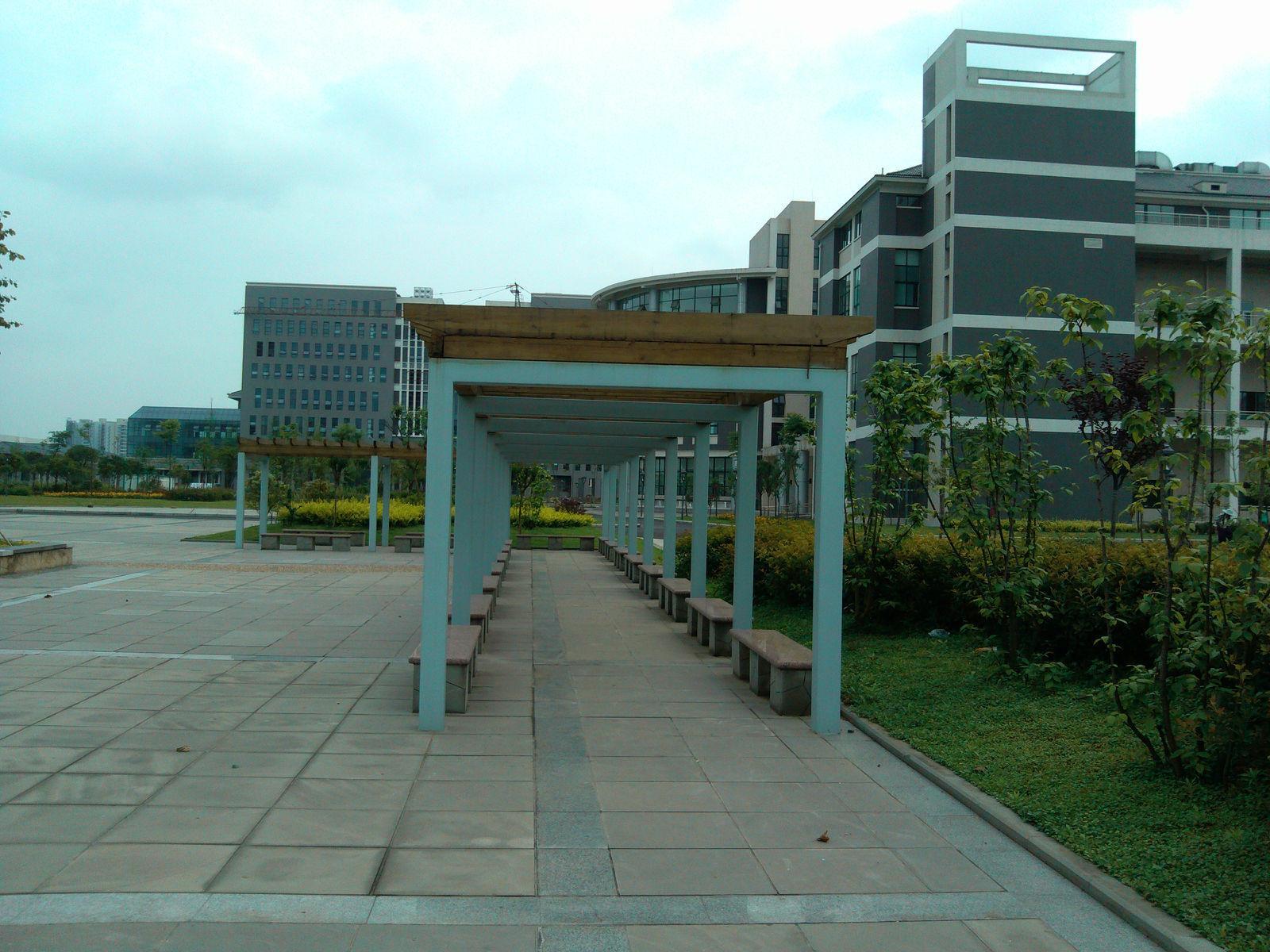 四川城市技师学院校园环境